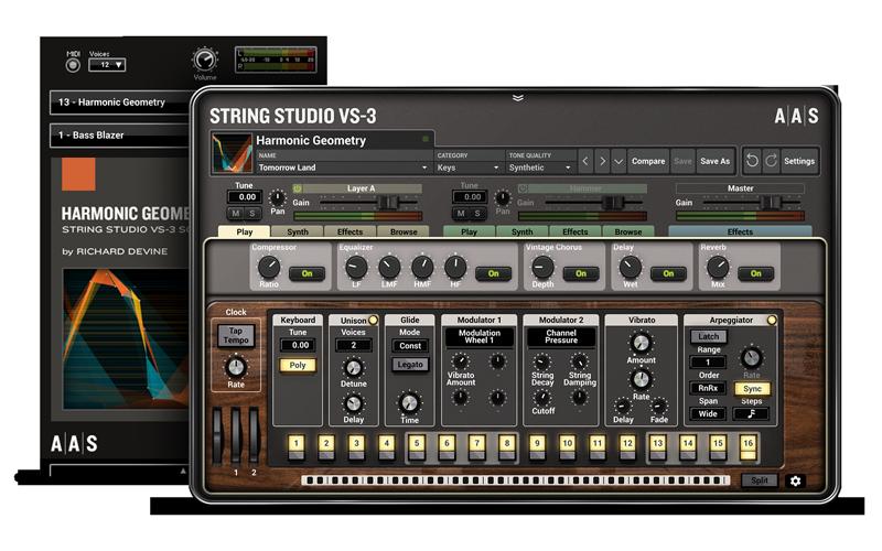Harmonic Geometry - String Studio VS-3