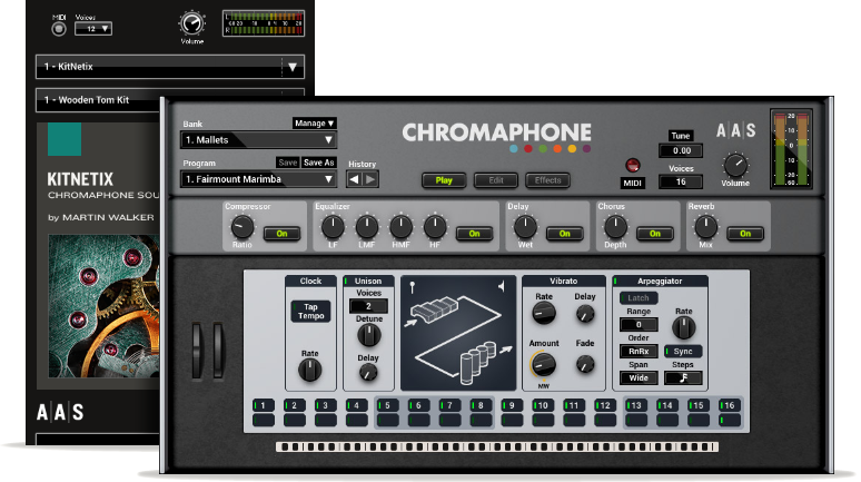 KitNetix - Chromaphone 2