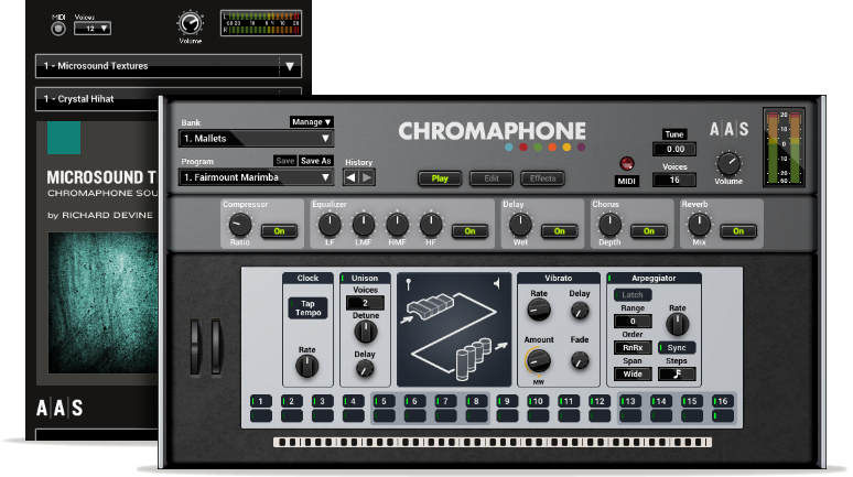 Microsound Textures - Chromaphone 2