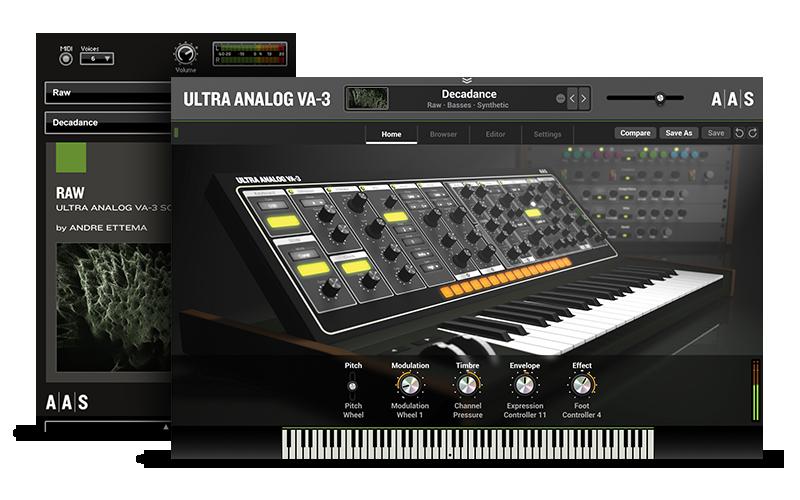 Raw - Ultra Analog VA-3