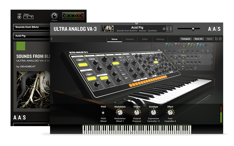 Sounds from BLKRTZ  - Ultra Analog VA-3