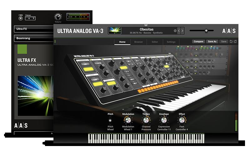 Ultra FX - Ultra Analog VA-3