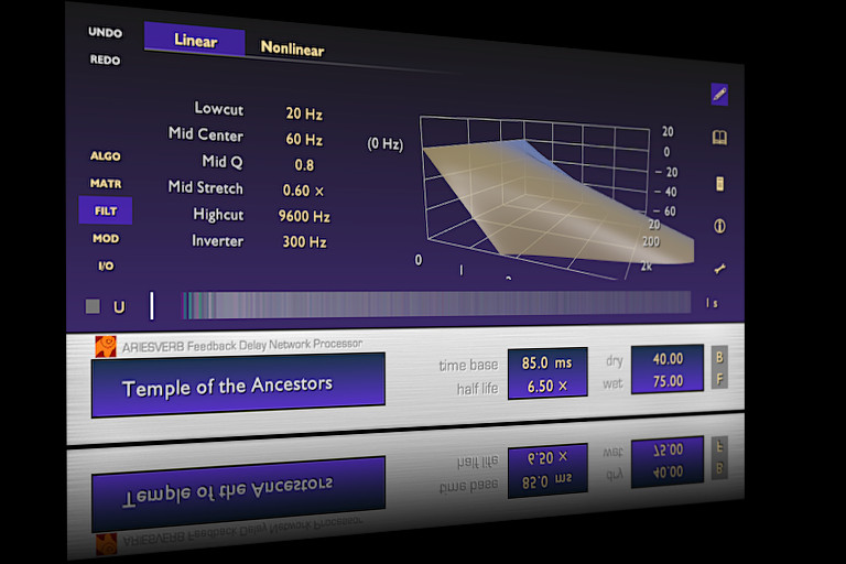 AriesVerb - Feedback Delay Network Processor