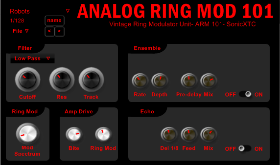 Analog Ring Modulator ARM 101