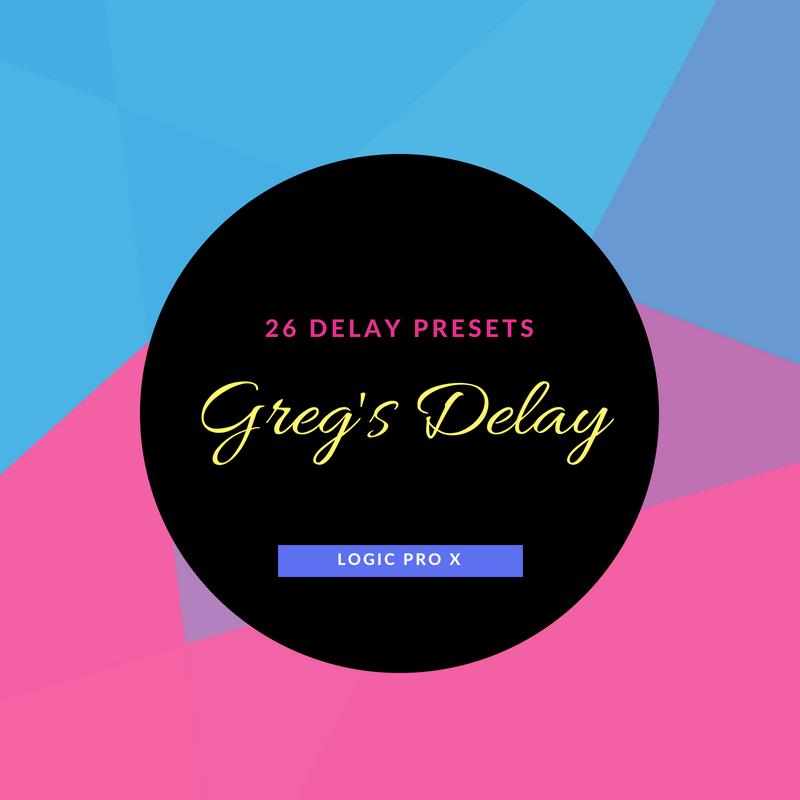 Greg's Delay Preset Pack for Logic Pro X