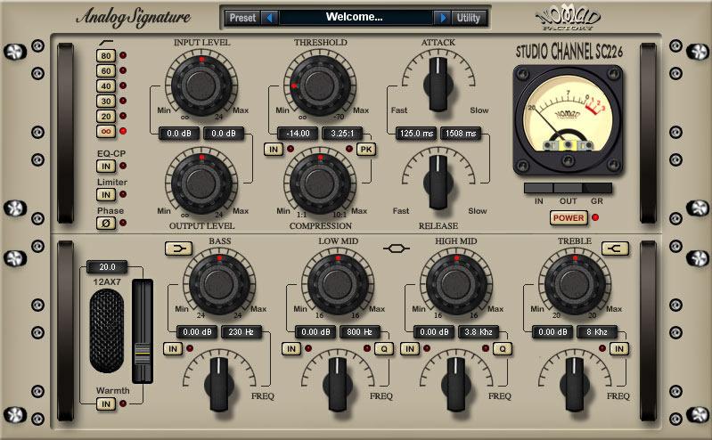 Analog Signature Studio Channel SC-226