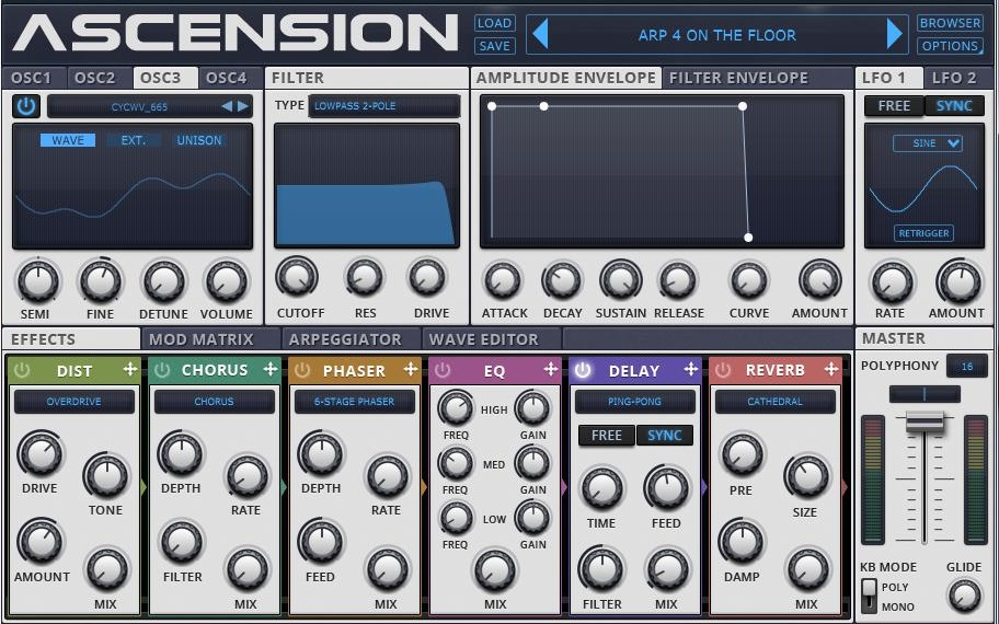 DMS Ascension Sound Library
