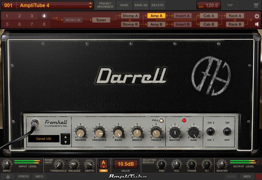 KVR: Dimebag Darrell CFH Collection for AmpliTube by IK Multimedia