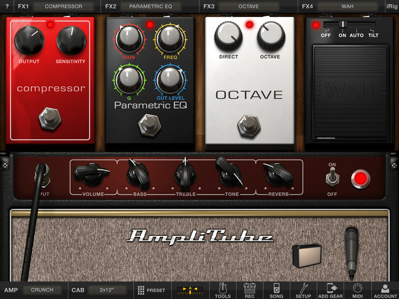 kvr amplitube for ipad by ik multimedia guitar amp and fx modeling rh kvraudio com iPad Mini User Manual iPad Mini User Manual