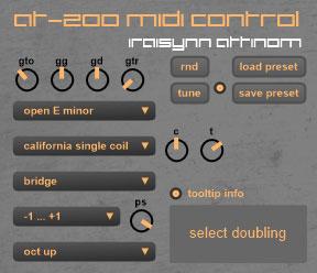 at-200 MIDI control