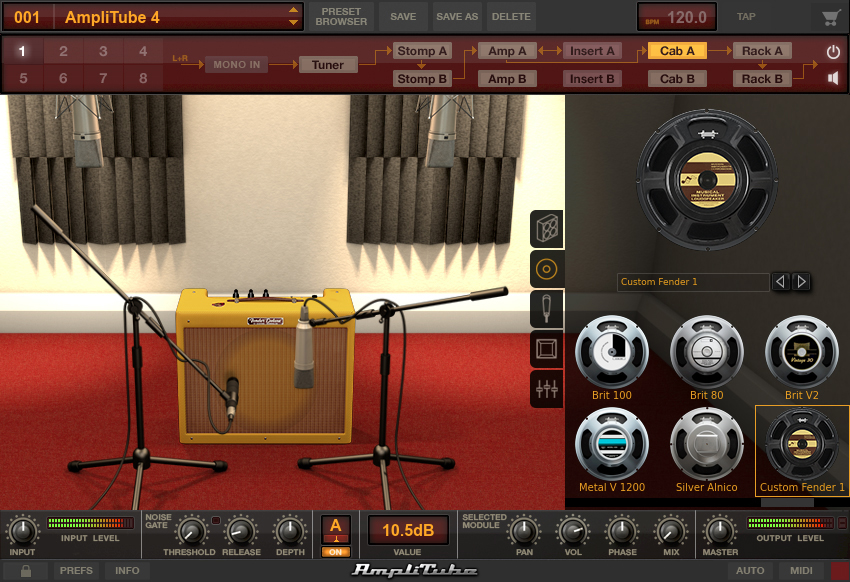 how to set up amplitube 3
