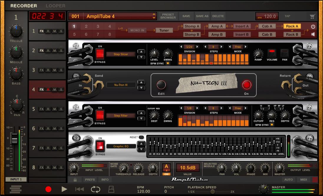 kvr amplitube by ik multimedia guitar amp and fx modeling vst plugin audio units plugin vst. Black Bedroom Furniture Sets. Home Design Ideas