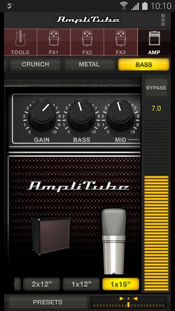 kvr amplitube for android by ik multimedia mobile apps. Black Bedroom Furniture Sets. Home Design Ideas
