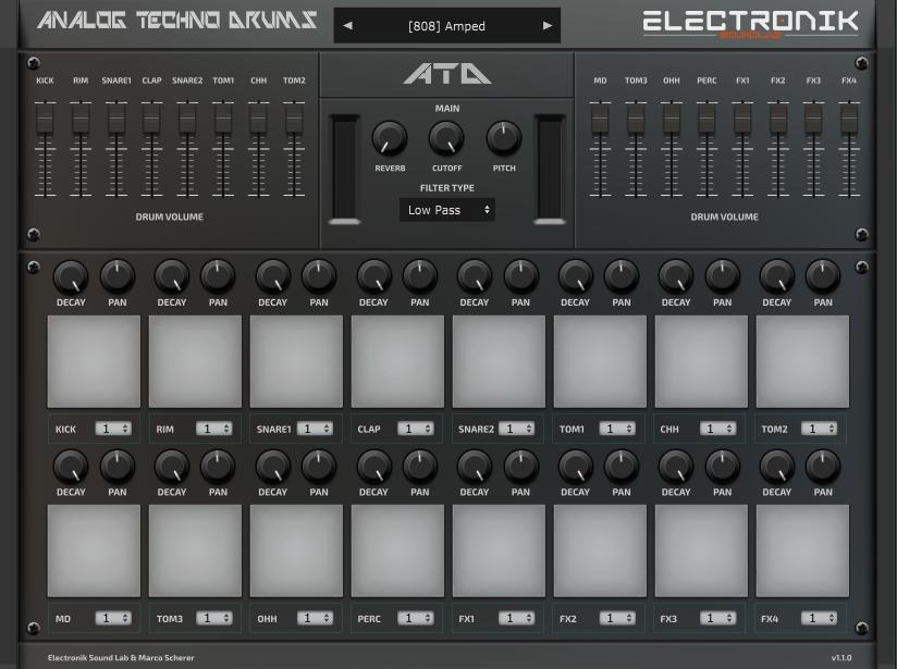 Analog Techno Drums