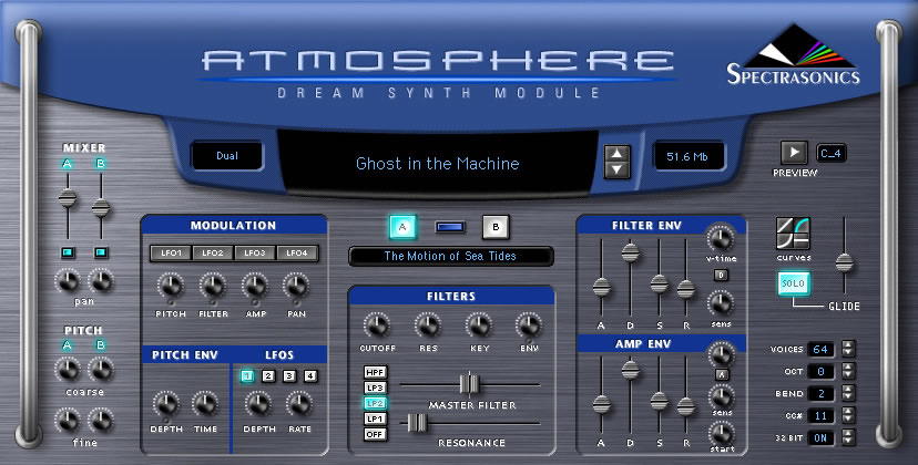KVR: Atmosphere by Spectrasonics - Dream Synth Module VST