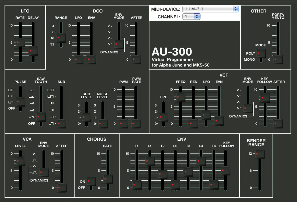 KVR: AU-300 by tOSC - MIDI Controller Audio Units Plugin