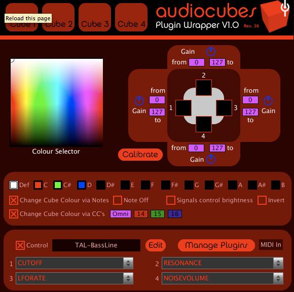 PluginWrapper for Percussa AudioCubes