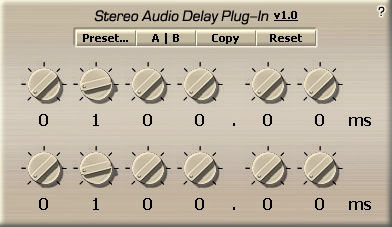 Audio Delay