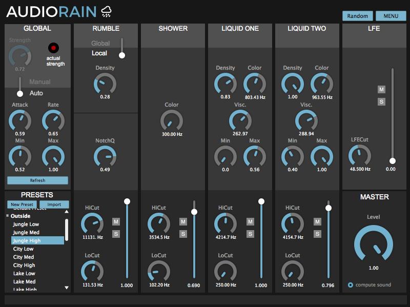 AudioRain Pro