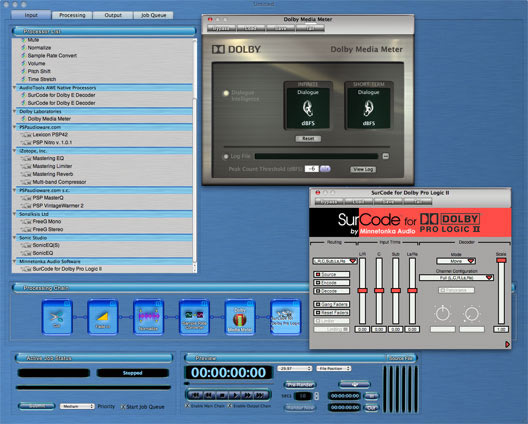 AudioTools AWE (Audio Workflow Engine)