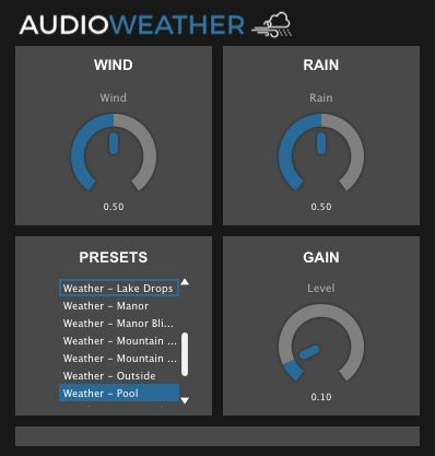 AudioWeather