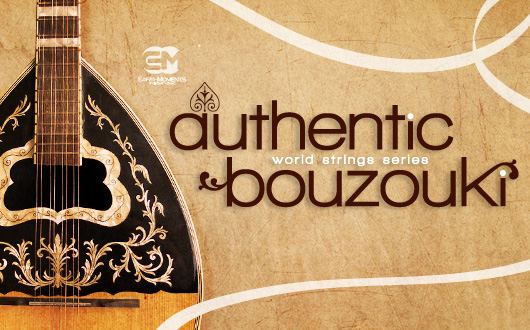 Authentic Bouzouki Live Ready