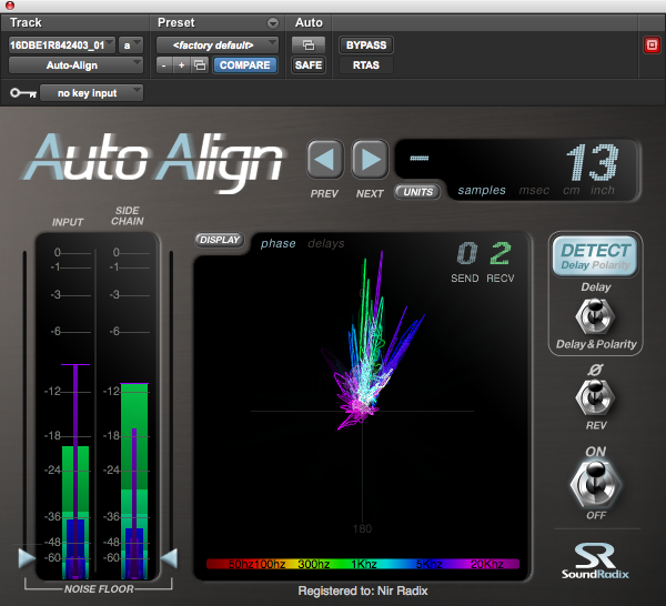 KVR: Auto-Align by Sound Radix - Analyser / Monitor VST Plugin