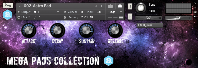 Pads Collection Vol. 1 for Kontakt