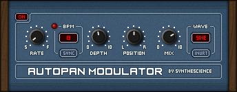 Autopan Modulator