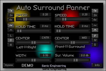 Auto Surround Panner