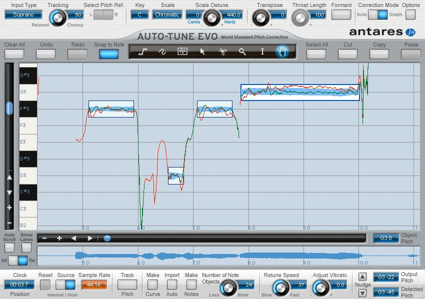 kvr antares audio technologies releases auto tune evo auto tune v6 0