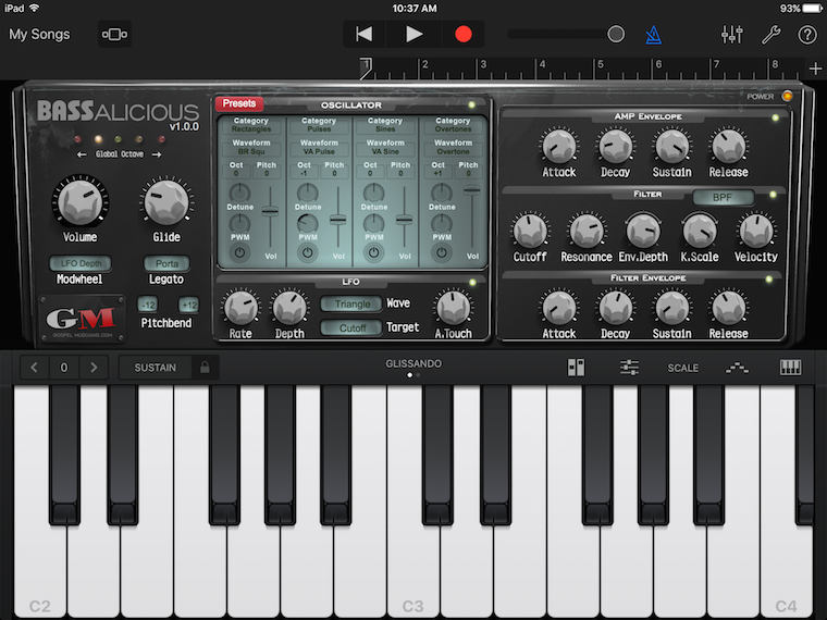 KVR: Gospel Musicians releases BASSalicious for iPad with