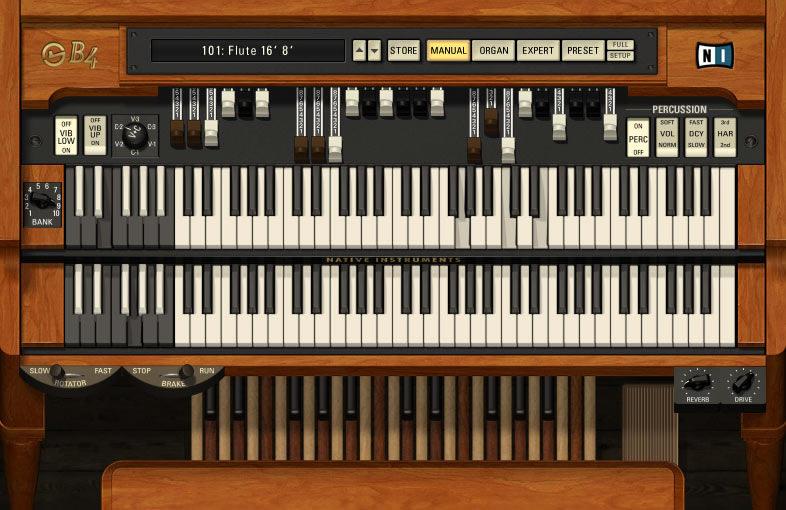 B4 organ download