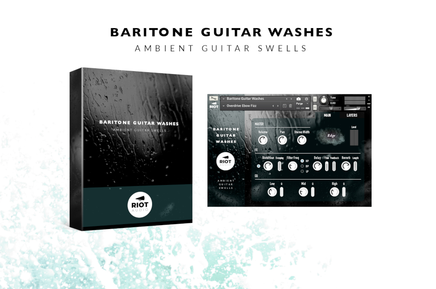 Baritone Guitar Washes