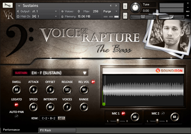 Voice Of Rapture: The Bass