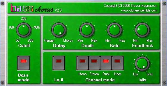 KVR: Bass Chorus by Clone Ensemble - Modulation (Flanger
