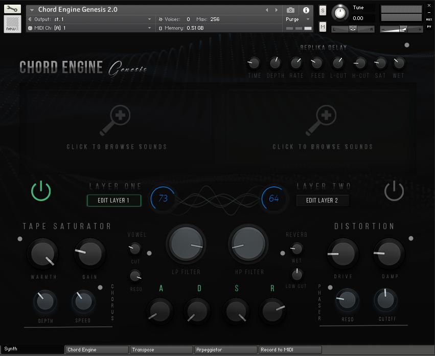 KVR: Produce RNB releases Chord Engine Genesis 2 0 for Kontakt Player