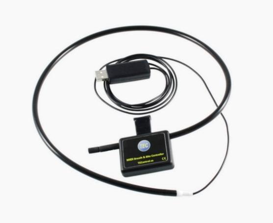 USB MIDI Breath and Bite Controller