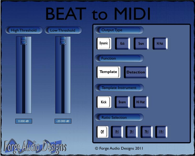 BEAT to MIDI