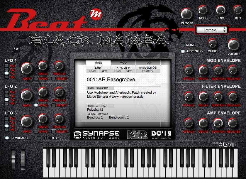 KVR: Beat Black Mamba by Beat - Sample Player VST Plugin and Audio