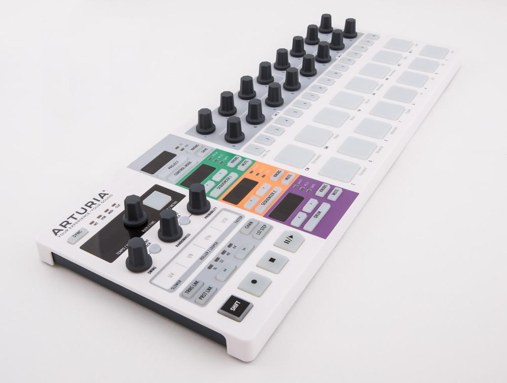 kvr  arturia announces beatstep pro