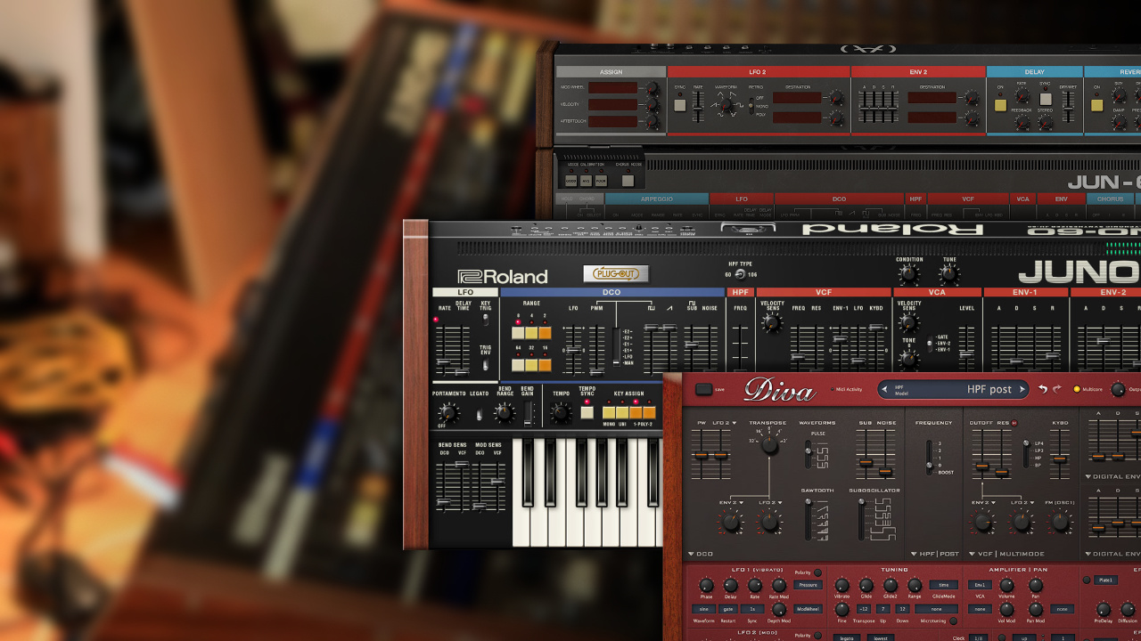 The best Roland Juno 106 & Juno 60 emulations