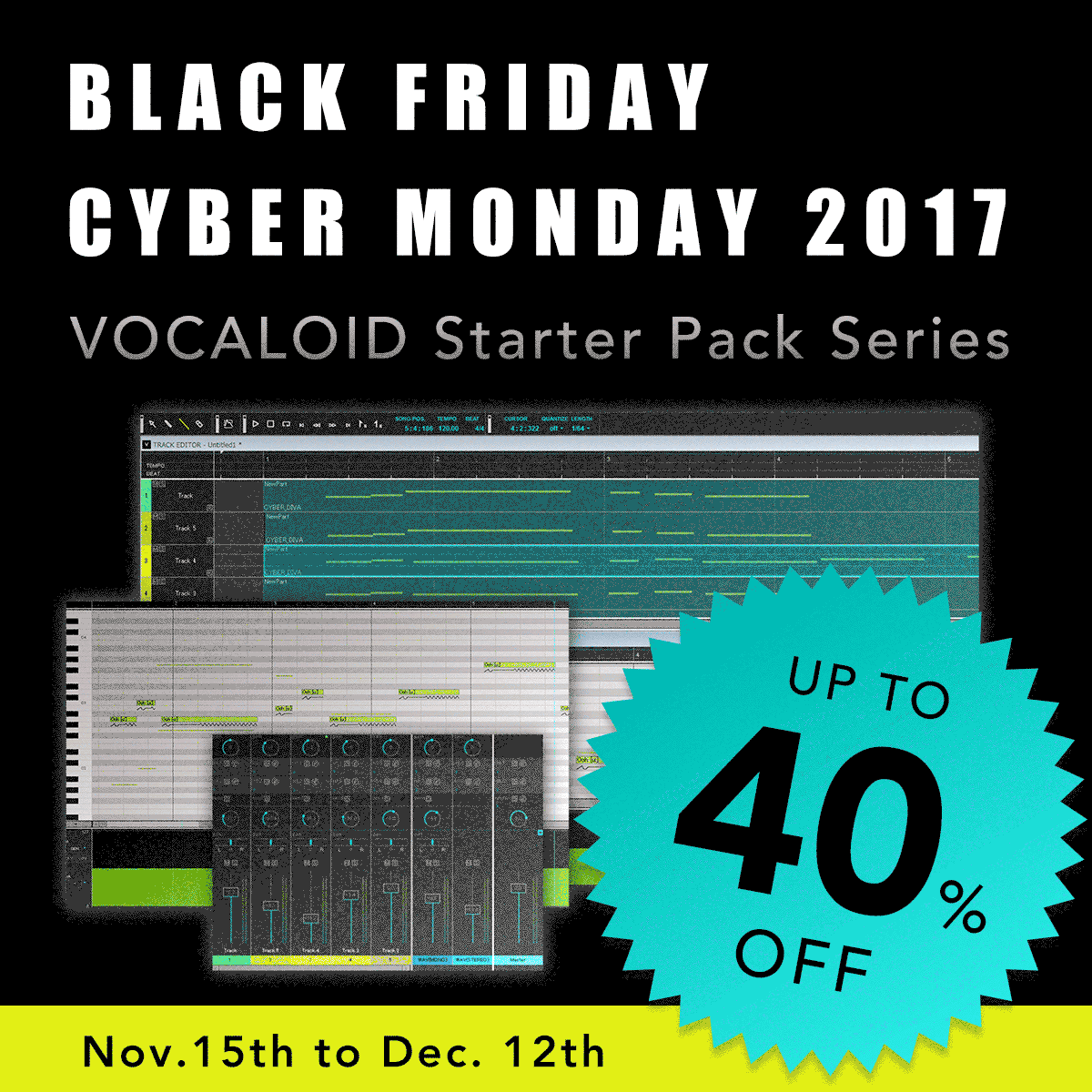 KVR: #KVRDeal Yamaha Vocaloid Shop Black Friday and Cyber