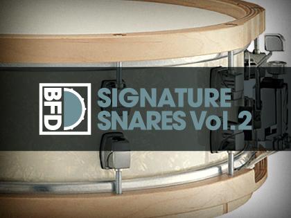 BFD Signature Snares Vol.2