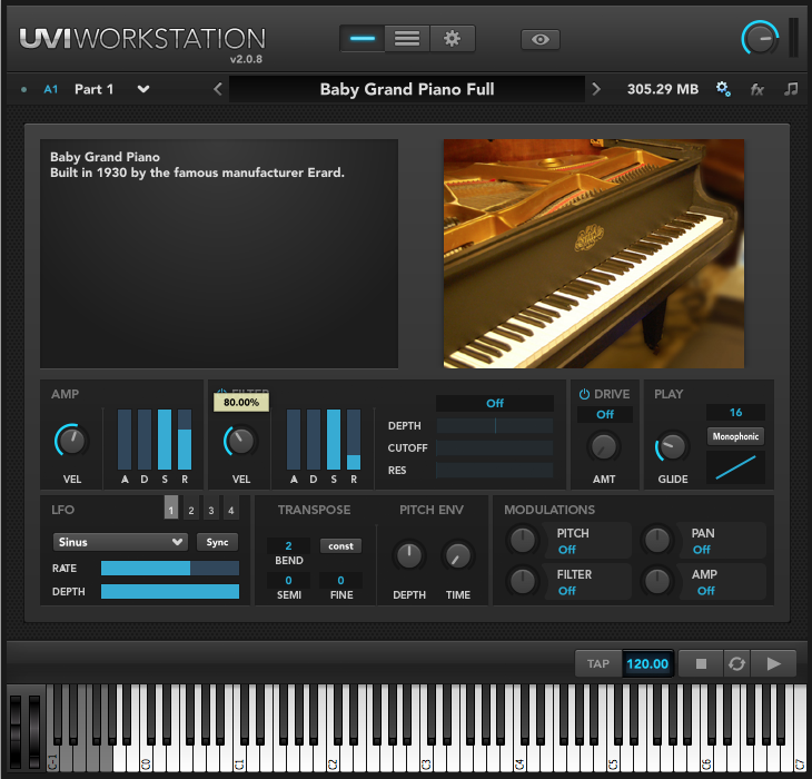 KVR: Grand Piano Collection by UVI - Acoustic Piano Library VST
