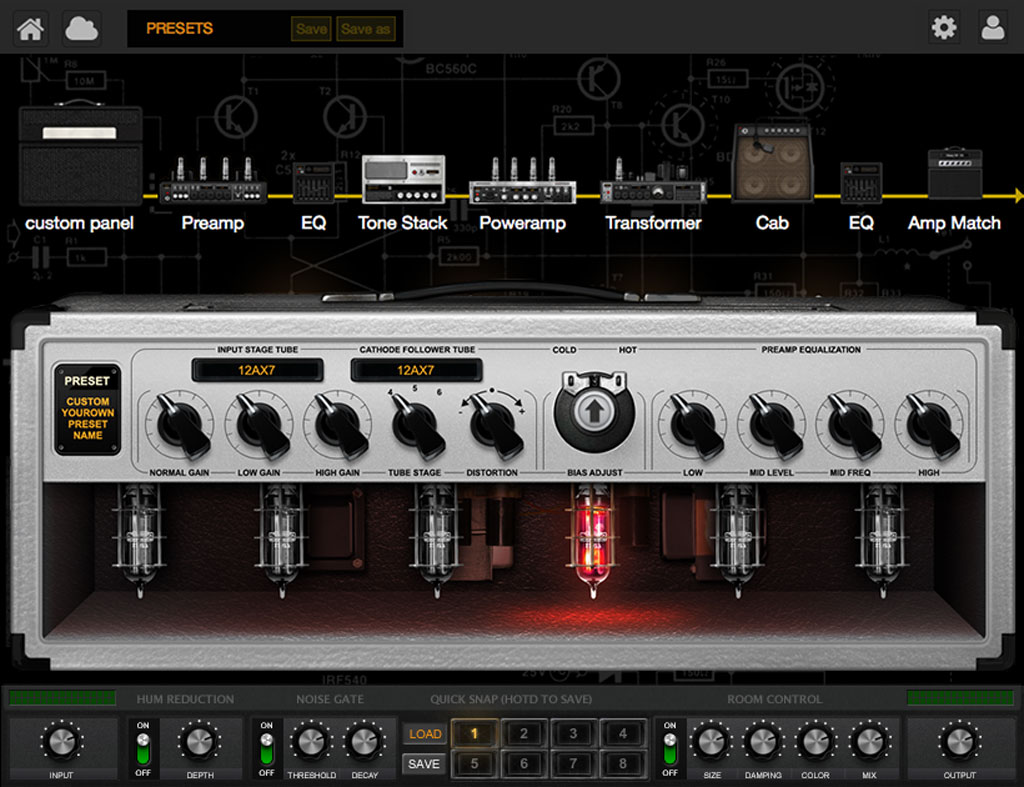 KVR: Positive Grid announces BIAS Desktop Guitar-Amp Designer