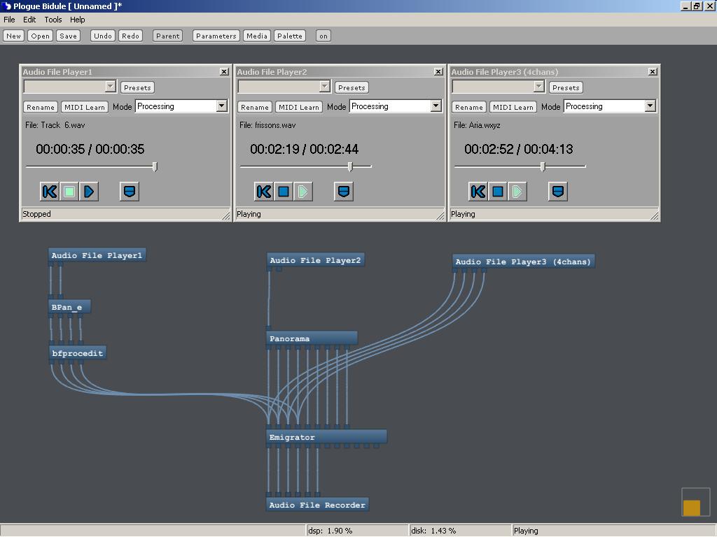 KVR: Bidule by Plogue - Modular Environment VST Plugin and
