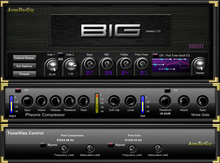 BIG (Bass Integrated Gain)