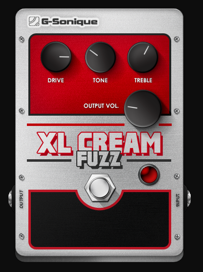 G-Sonique XL Cream Fuzz
