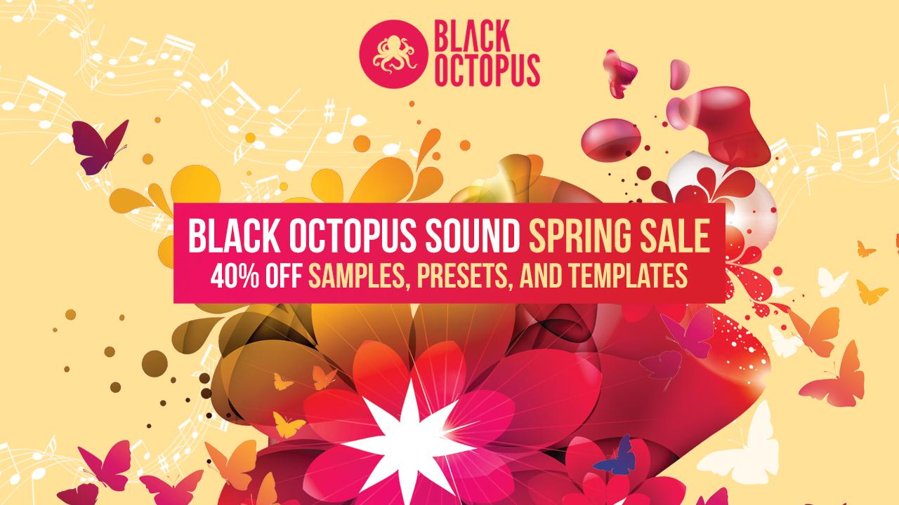 KVR: #KVRDeal Black Octopus Sound 40% Off Spring Sale 2019